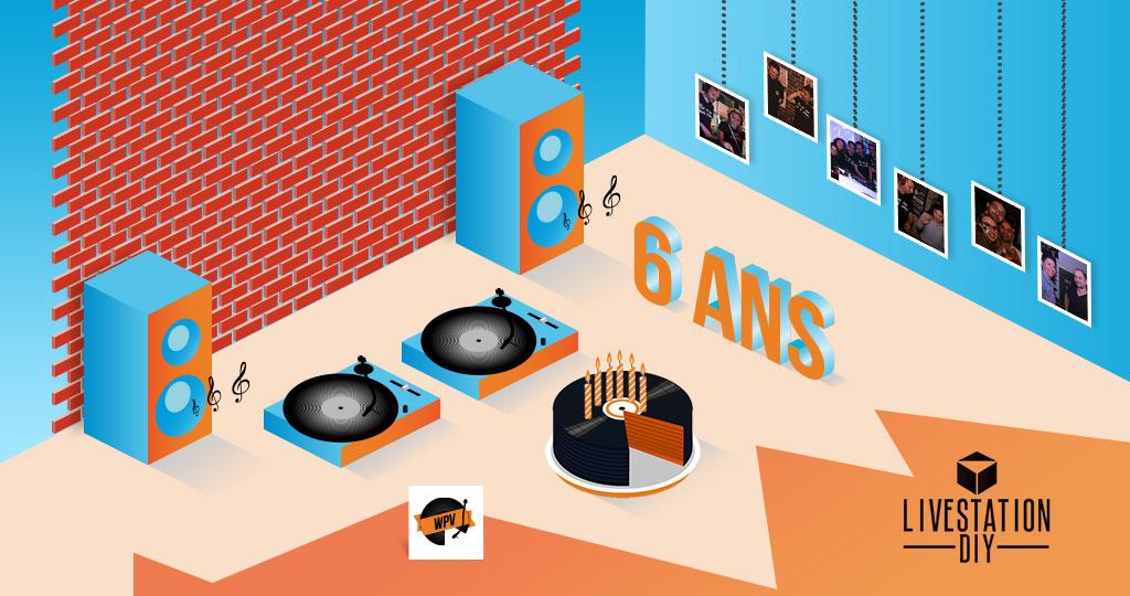 Image - WPV #34 - 6 ans @Livestation DIY