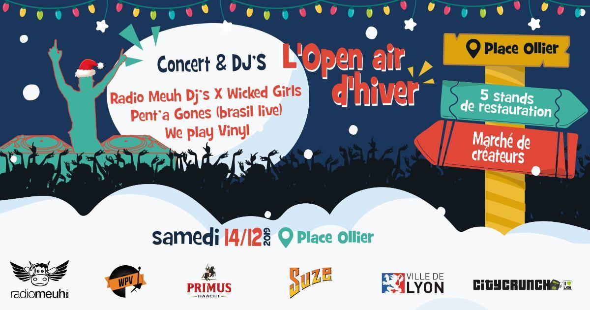 Open Air : SoliBARités fête l'Hiver (Lyon) - 14/12/19