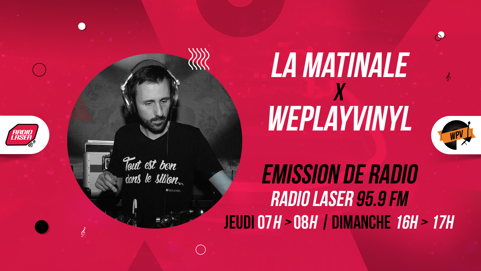 La matinale - Emission de radio - Radio laser - Arno