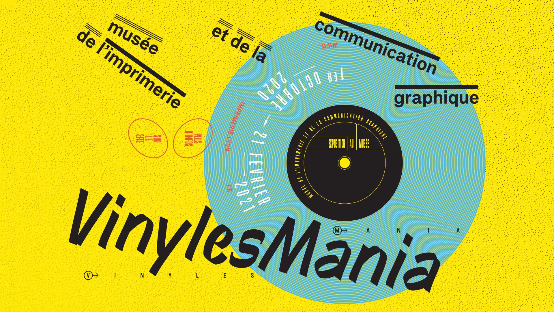 Vinylmania - Musée de l'imprimerie (Lyon) - 03/10/20