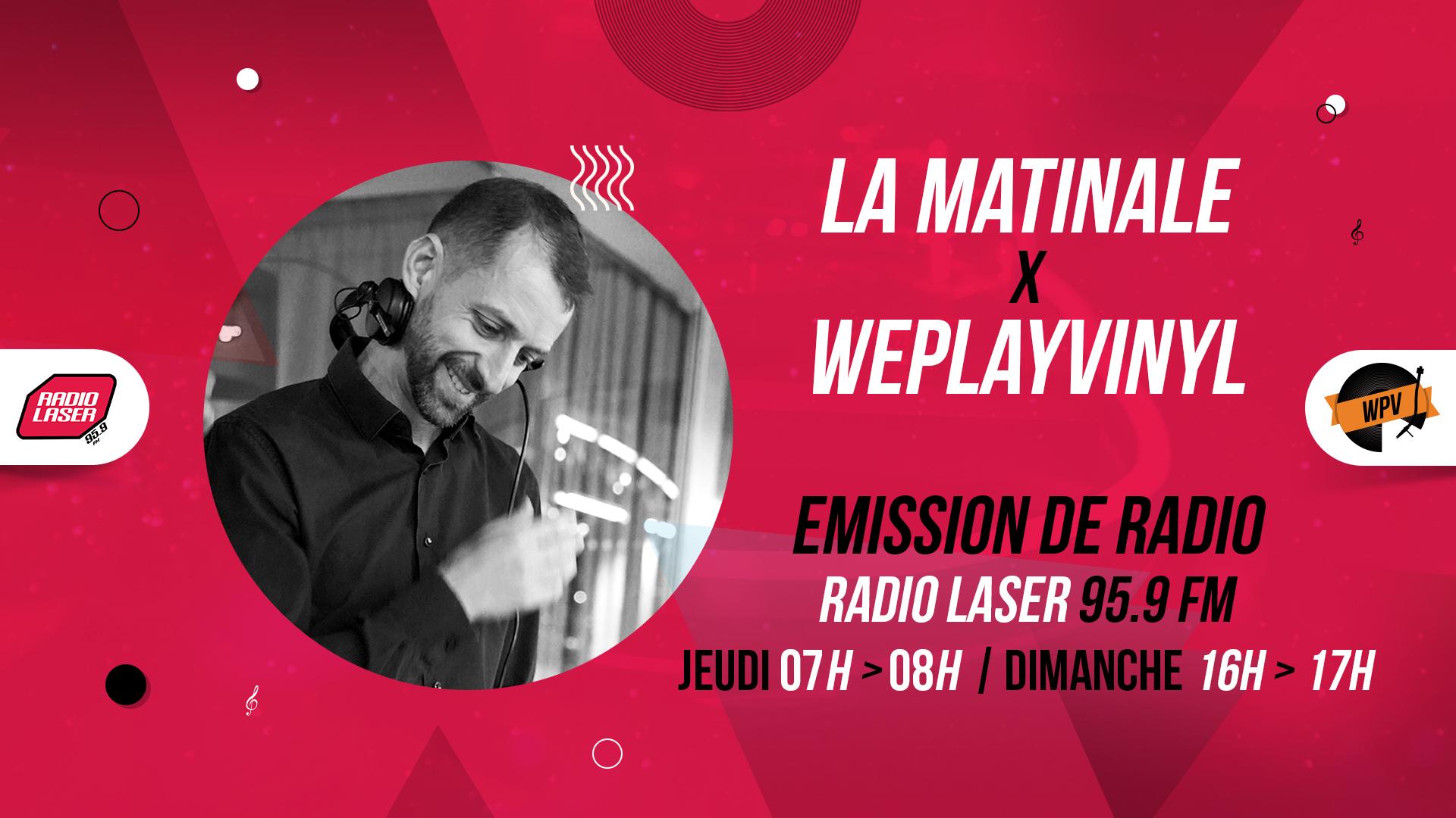 Header de La matinale - Emission de radio - Davhyd - Radio laser