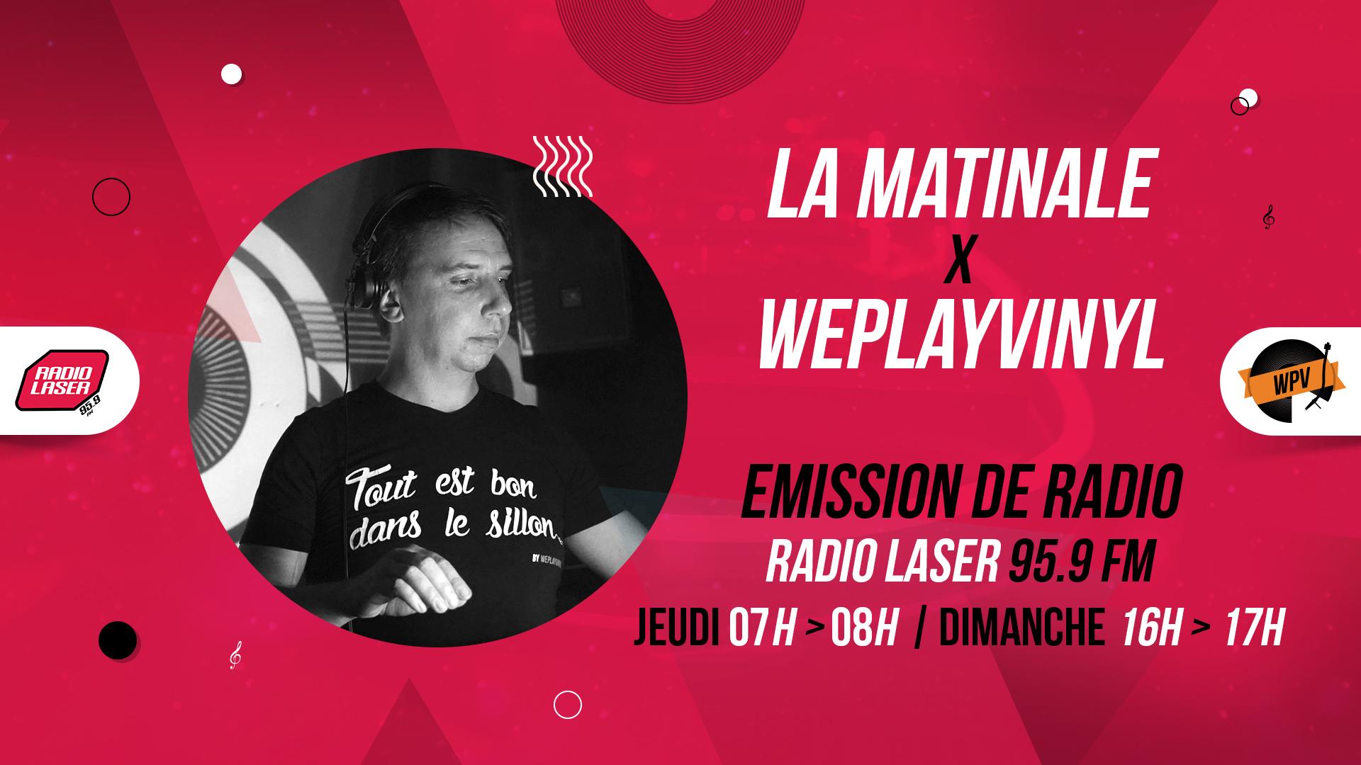 Header de La matinale - Emission de radio - Craninho - Radio laser