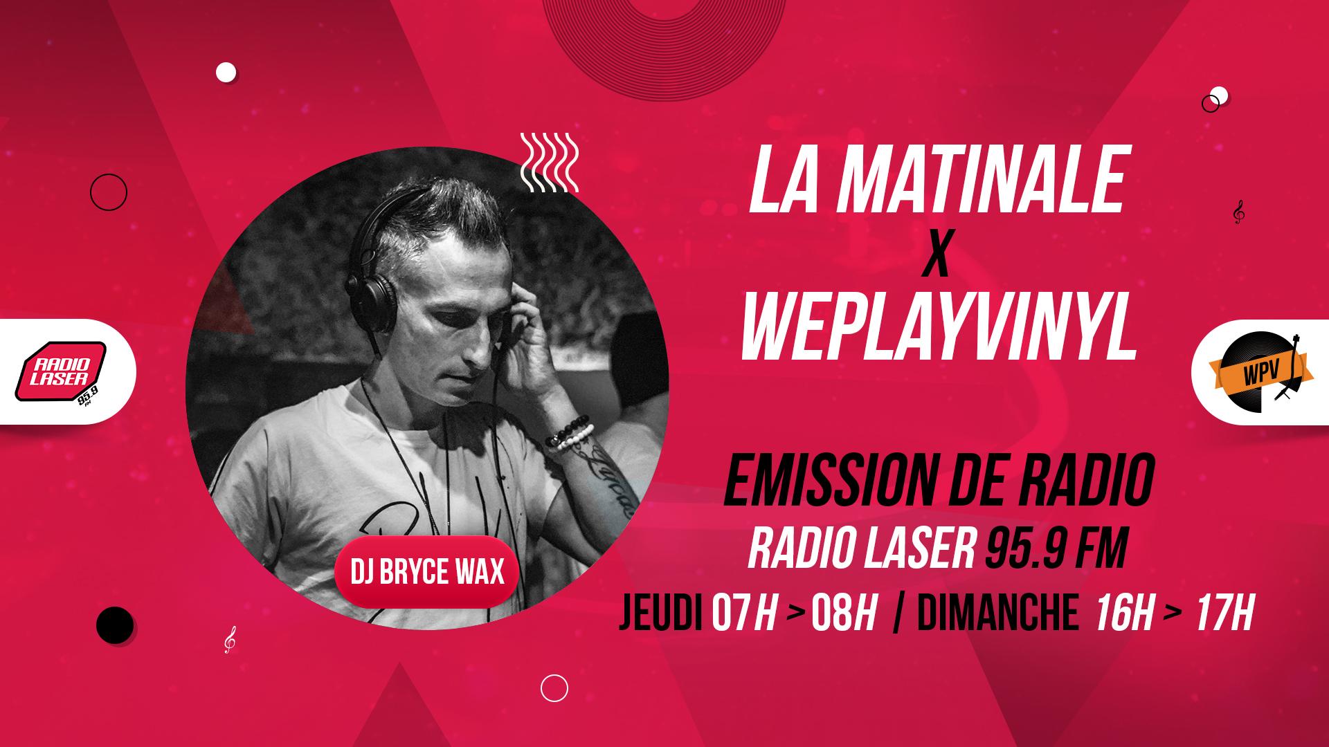 Header de La matinale - Emission de radio - Bryce Wax - Radio laser